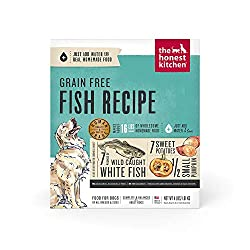 The honest kitchen dog food grain free fish