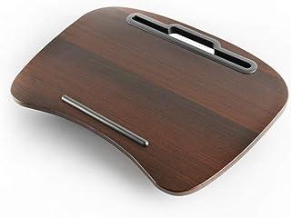 FFL クッションテーブル 膝上 ラップトップ ノートPC タブレット 読書 車ベッド 食卓 テレワーク 自宅勤務 ブラウン