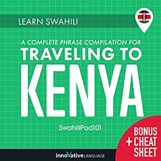 Learn Swahili: A Complete Phrase Compilation for Traveling to Kenya cover art