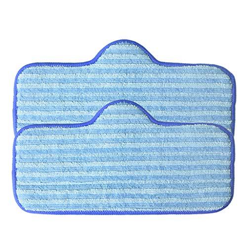 Iusun Mikrofaser-Pads, kompatibel mit Dupray Neat Dampfreiniger Fasermop Zubehör Staubsauger Reinigungsset A blau