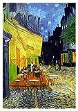Vincent Van Gogh Painting, Café Terrace at Night, Art,...