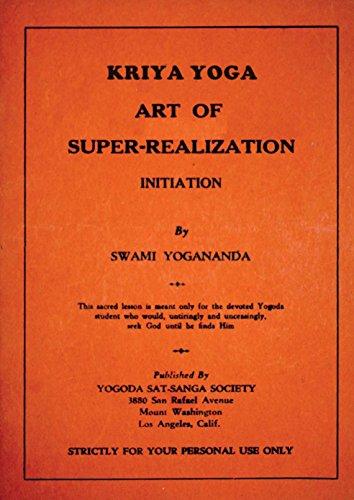 Kriya Yoga By Swami Yogananda 1930 Art Of Super Realization Kindle Edition By Yogananda Swami Stevens Jc Self Help Kindle Ebooks Amazon Com