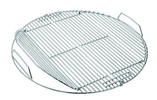 RÖSLE Grillrost, Hochwertiger Grillrost aus Edelstahl 18/10 passend für RÖSLE Grills No.1 F50/F50 AIR, klappbar, Spülmaschinengeeignet