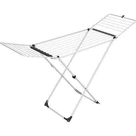 Vileda séchoir Universal - séchoir sur pieds acier 18m de capacité de séchage + 2 roulettes - ref 157241