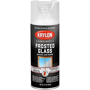 Krylon I00810 Glass Frosting Aerosol Spray Paint, 12 Ounce