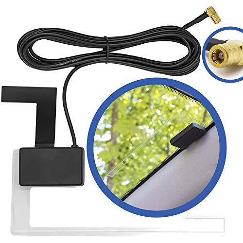 DAB + schijven antenne actieve radio adapter compatibel met Kenwood Sony Pioneer