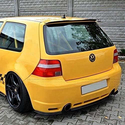 Alerón trasero de techo ABS, cubierta de maletero, estilo de coche para VW Golf 4 MK4 R32 Hatchback 1999 2000 2001 2002 2003 2004 2005 2006