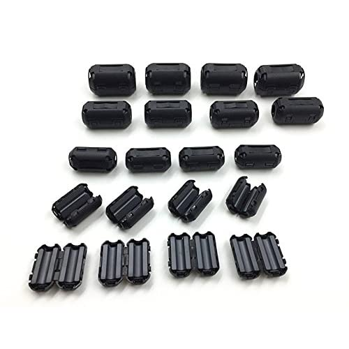 Tour 7 mm Round Cable Clips Noir