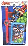 TDL Marvel Avengers Set Regalo Orologio + Portafoglio - Licenza Ufficiale -Watch & Wallet