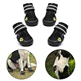 Royalcare Dog Shoes Protective Boots Mesh Breathable Pet Shoes with Wear-resistant and Rugged