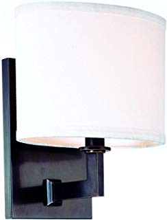 Hudson Valley Lighting 591-SN One Light Wall Sconce from The Grayson Collection, 1, Satin Nickel