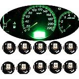 Mintice 10 X vert Voiture T4 / T4.2 Néo Wedge LED ampoule cluster tableau de bord Lumière de la jauge de...