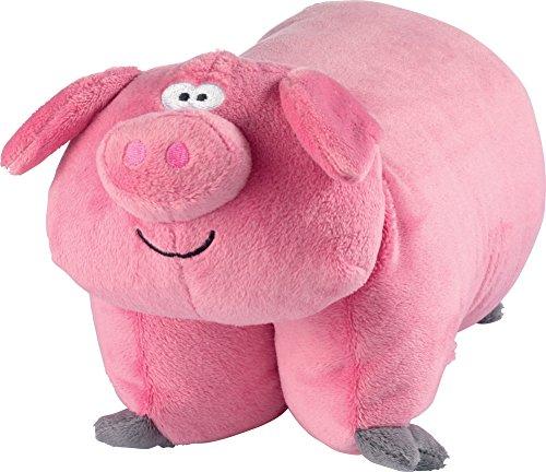 Go Travel - Pig Pillow (Assorted Colours)