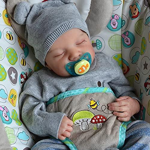 TTWLJJ Muñecas recién Nacidas,Simulación Renacer Muñeca 30Cm 12 Pulgadas Vinilo bebé Dulce niña Bebé Regalo de cumpleaños