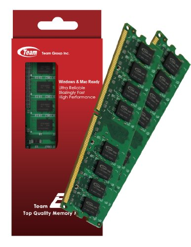 4GB (2GBx2) Team High Performance Memory RAM Upgrade For HP - Compaq Pavilion p6230a p6232p p6234f p6236f Desktop. The Memory Kit comes with Life Time Warranty.
