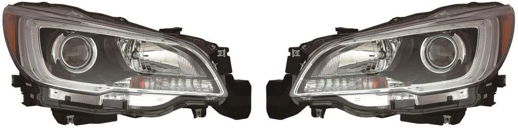 For Subaru Indefinitely Outback Headlight Assembly 2017 2015 2016 Pair Driver overseas
