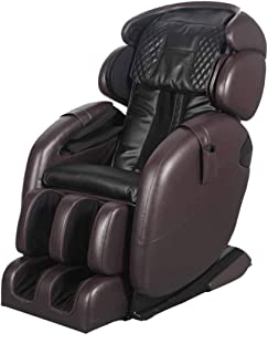 Space-Saving Zero Gravity Full-Body Kahuna Massage Chair Recliner LM6800S (Dark Brown)