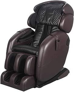 Space-Saving Zero Gravity Full-Body Kahuna Massage Chair Recliner LM6800S (Dark Brown)