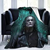 5husihai The Crow Movie Blanket Super Soft Cozy Lightweight Microfiber 60'X50' for Bed Soft Couch Living Room