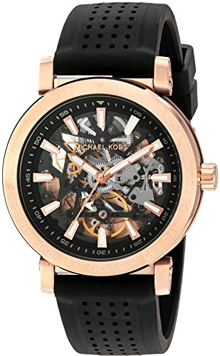 Michael Kors Men's Halo Black Watch MK9033