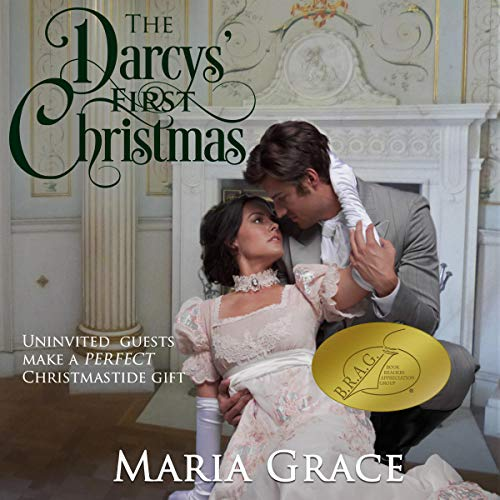 The Darcys' First Christmas audiobook cover art