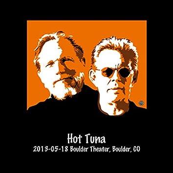 2013-05-18 Boulder Theater, Boulder, Co (Live)