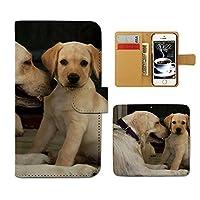 Galaxy A21 UQ mobile SCV49 ケース 手帳型 アニマル 手帳ケース スマホケース カバー ペット 犬 わんちゃん いぬ E0240020115001