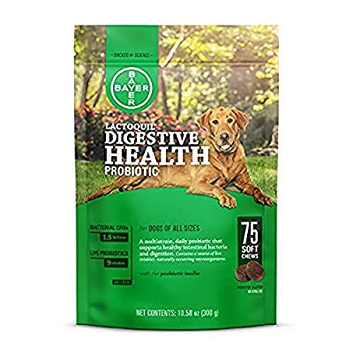 Bayer Animal Health Lactoquil Soft Chews for Dogs