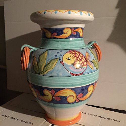 le terrecotte di cassiano fabio Paragüero de cerámica pintado a mano 55 cm