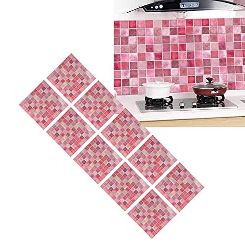 Adhesivo para azulejos, adhesivo de pared impermeable Fácil de usar Material de PVC seleccionado El material es resistente al agua y al aceite para baños para gabinetes
