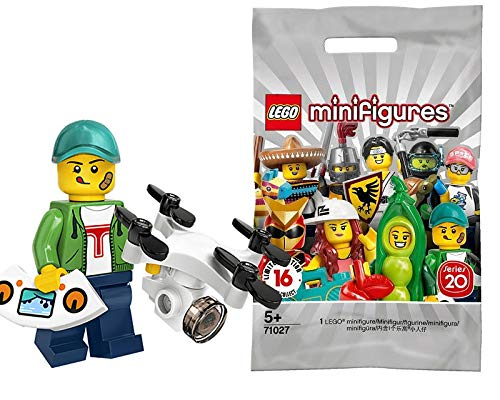 LEGO 71027 Minifigures Series 20 - Drone Boy Racer