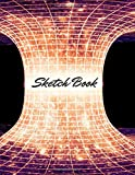 Sketch Book: Notebook for Drawing, Writing, Painting, Sketching or Doodling, 110 Pages, 8.5x11 (Premium Abstract Cover vol.29)