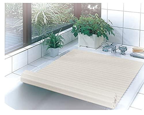 Cubierta de bañera Plegable , Cubierta de bañera Tabla Plegable a Prueba de Polvo Cubierta de Aislamiento térmico de baño Cubierta de bañera Plegable de Resina (Size : 140 * 80 * 1.2cm)