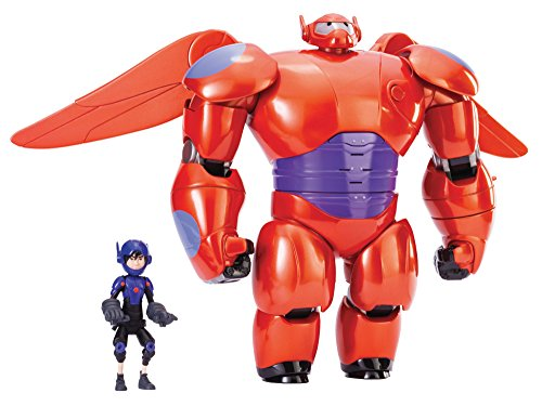"Big Hero 6 11"" Deluxe Flying Baymax with 4.5"" Hiro Action Figures image"