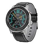 WEINANA Smart Watch Men Fitness Tracker Sport SmartWatch Monitoraggio del Sonno Frequenza cardiaca Orologio da Polso Uomo Braccialetto Intelligente per iOS Android(Color:D)