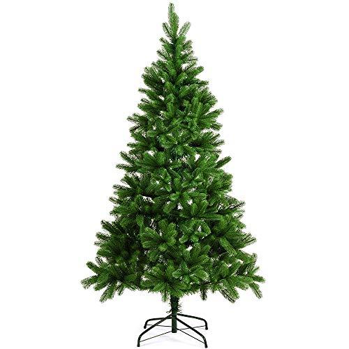 Deuba Weihnachtsbaum 180 cm Ständer Spritzguss künstlicher Tannenbaum Christbaum Baum Tanne Edeltanne Christbaumständer PE