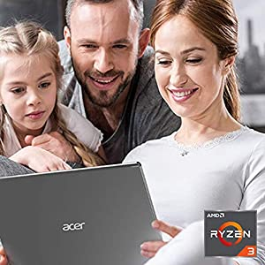 Acer Aspire 5 Slim Laptop A515-43-R19L 15.6″ Full HD IPS Display, AMD Ryzen 3 3200U, 4GB DDR4, 128GB PCIe NVMe SSD with Acer White M501 Wireless Mouse