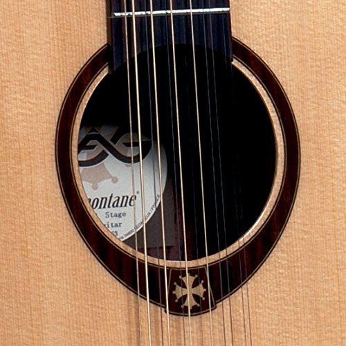 GUITARRA ACUSTICA LAG JUMBO T400 12 CUERDAS T400J12: Amazon.es ...