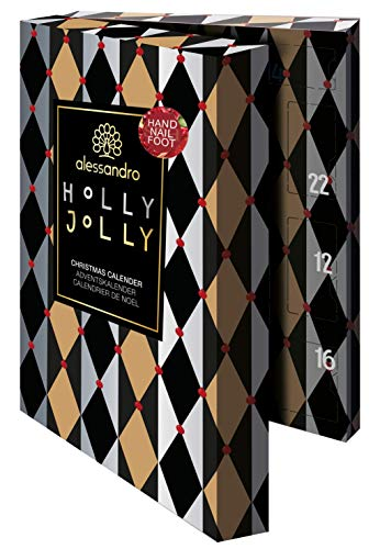 alessandro Spa Hand- & Nagelpflege Adventskalender Holly Jolly - NAIL, HAND, FOOT 2020, 45 ml