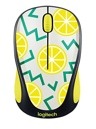 Logitech Wireless Mouse M317  Lemon