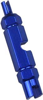 Ferramenta de remoção de núcleo de válvula Homyl para tubo Presta/Schrader, azul, 54 mm