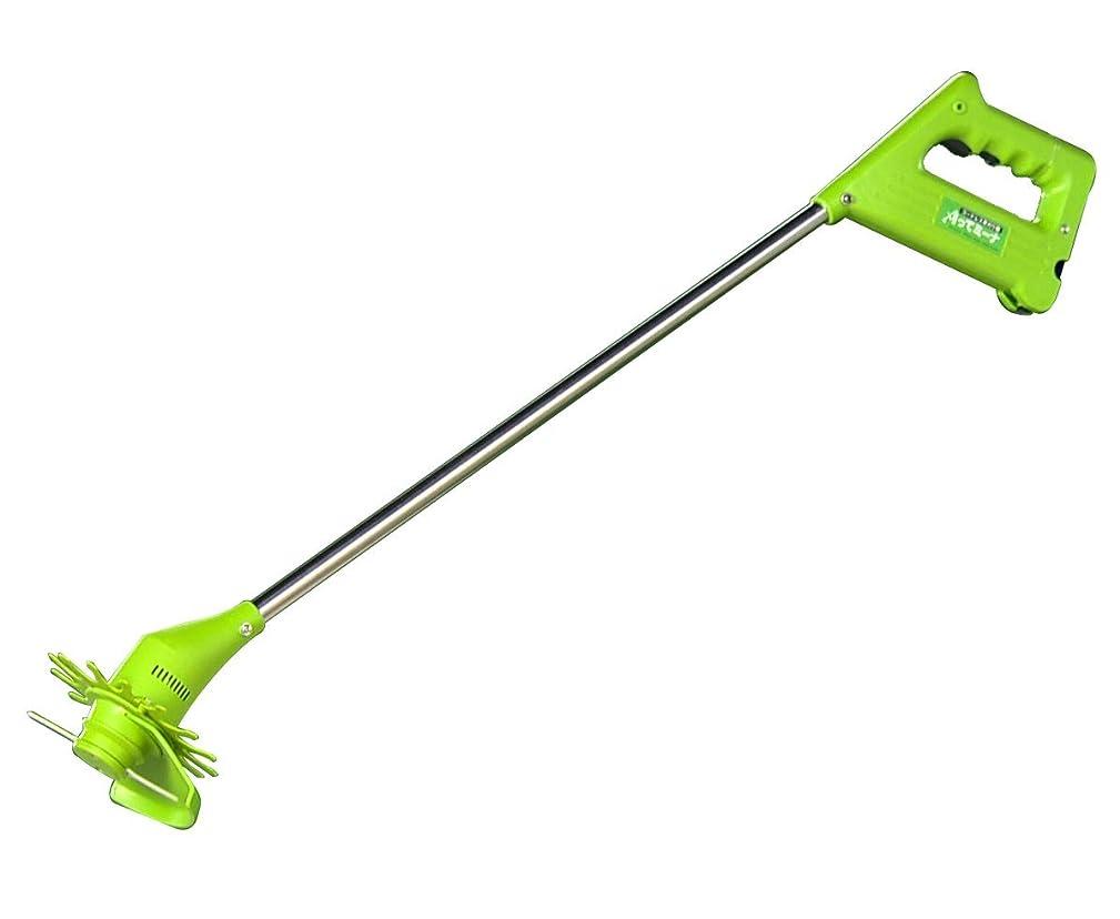 誰でも豪華なジャーナルコードレス草刈り機 刈ってミーナ 充電式 ナイロン刃 チタン刃 軽量約1kg