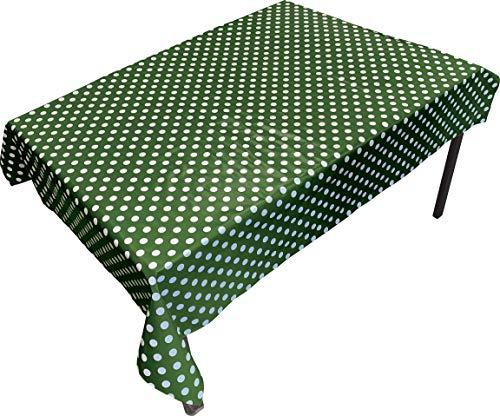 Springbord PVC Tafel- en vloerbedekking - Groene vlek (Rechthoekig) - 1,4 x 1,7 m - Geschikt voor kunst, ambacht en rommelig spelen