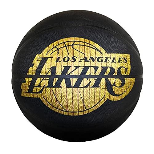 Spalding Hardwood Series - Pallone da basket (L.A. Lakers, 7)