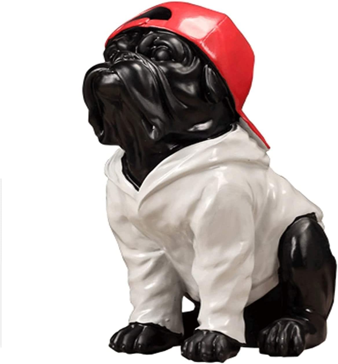 TEAYASON Sculptures Statues Dog Decoration Hat Red Online limited product Creative with Limited price