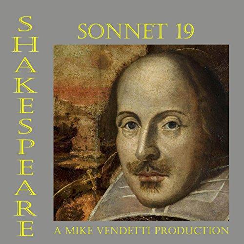 Sonnet 19 audiobook cover art