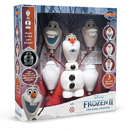Olaf Monta e Desmonta Frozen 2 Disney - Toyng