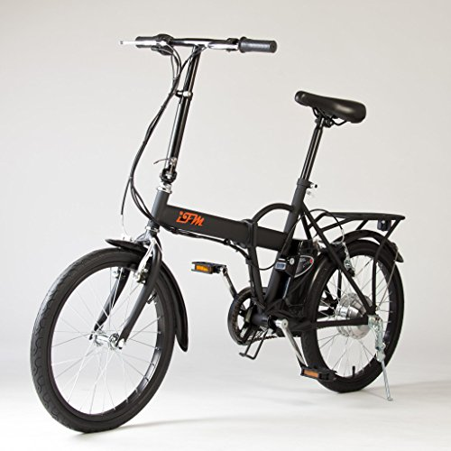 Bici Elettrica Pieghevole Batteria al Litio - Pieghevole in soli 10 secondi senza l'uso di attrezzi, per poter trasportarla comodamente ovunque - Assoluta comodità per raggiungere i centri storici nelle zone a traffico limitato