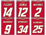Calgary Flames Poster im Vintage-Stil, 6 Stück