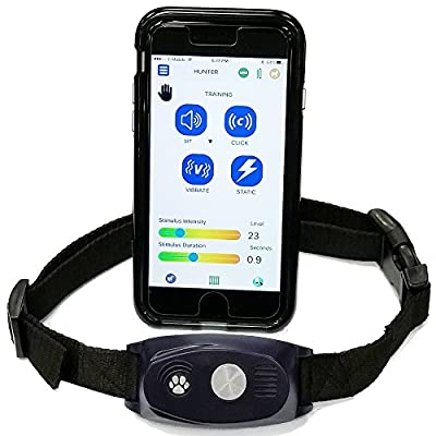 High Tech Pet BF-30 5 in 1 Power Pet Door Collar with Training. Electronic Fence, Bark Control, Activity & Fitness Monitoring. Operates All Doors, Fences, Mats & Barriers.